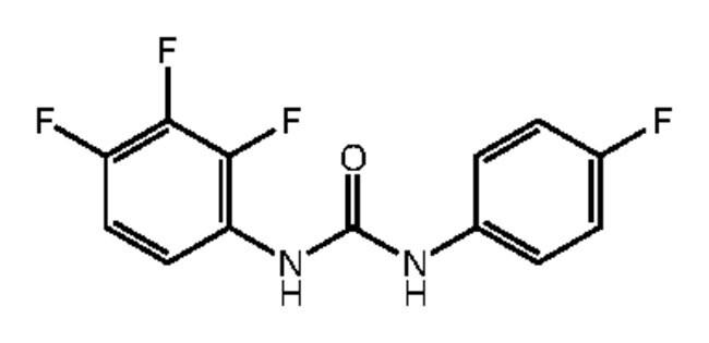 Alfa Aesar™1-(4-Fluorophenyl)-3-(2,3,4-trifluorophenyl)urea, 97% 250mg Ver productos
