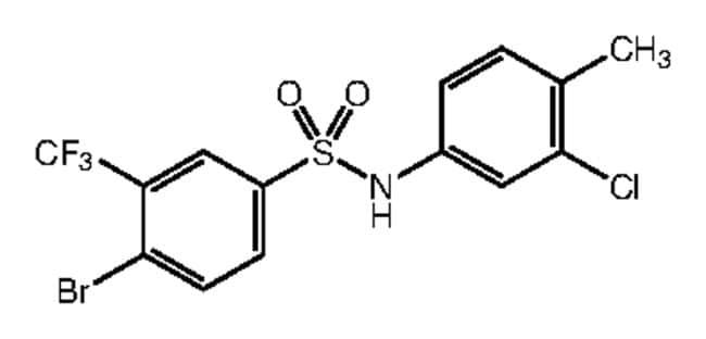 Alfa Aesar™4-Bromo-N-(3-Chlor-4-Methylphenyl)-3-(Trifluormethyl)benzolsulfonsäureamid, 97% 1g Produkte