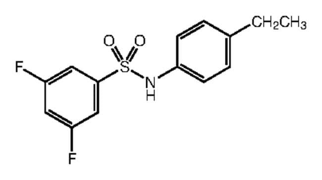Alfa Aesar™N-(4-Ethylphenyl)-3,5-difluorobenzenesulfonamide, 97% 1g Ver productos