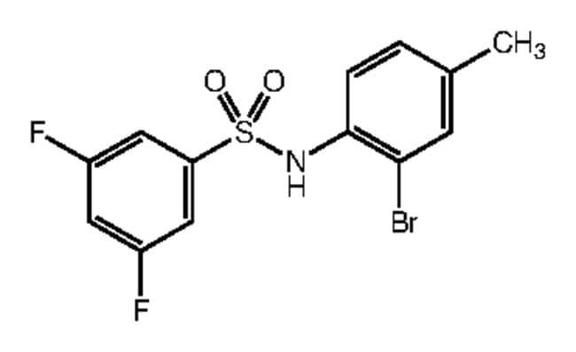 Alfa Aesar™N-(2-Bromo-4-methylphenyl)-3,5-difluorobenzenesulfonamide, 97% 250mg Ver productos