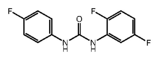 Alfa Aesar™1-(2,5-Difluorophenyl)-3-(4-fluorophenyl)urea, 97% 1g Products