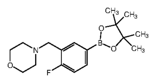 Alfa Aesar™4-Fluoro-3-(4-morpholinylmethyl)benzeneboronic acid pinacol ester, 96%: Inicio