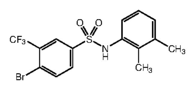Alfa Aesar™4-Bromo-N-(2,3-dimethylphenyl)-3-(trifluoromethyl)benzenesulfonamide, 97% 1g Ver productos