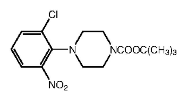 Alfa Aesar™1-Boc-4-(2-chloro-6-nitrophenyl)piperazine, 97% 1g Alfa Aesar™1-Boc-4-(2-chloro-6-nitrophenyl)piperazine, 97%
