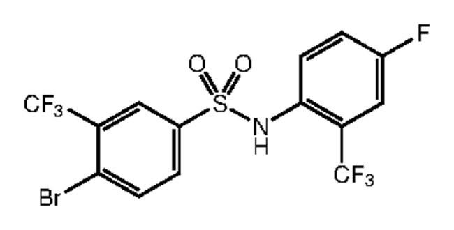 4-Bromo-N-[4-fluoro-2-(trifluoromethyl)phenyl]-3-(trifluoromethyl)benzenesulfonamide, 97%, Alfa Aesar™: Inicio