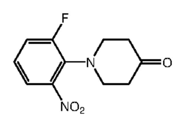 Alfa Aesar™1-(2-Fluoro-6-nitrophenyl)-4-piperidone, 97%: Organic Compounds Chemicals
