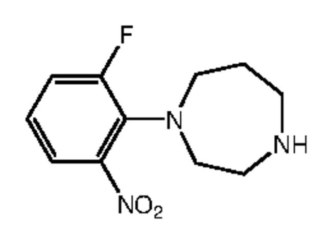 Alfa Aesar™1-(2-Fluoro-6-nitrophenyl)homopiperazine, 97% 5g Alfa Aesar™1-(2-Fluoro-6-nitrophenyl)homopiperazine, 97%