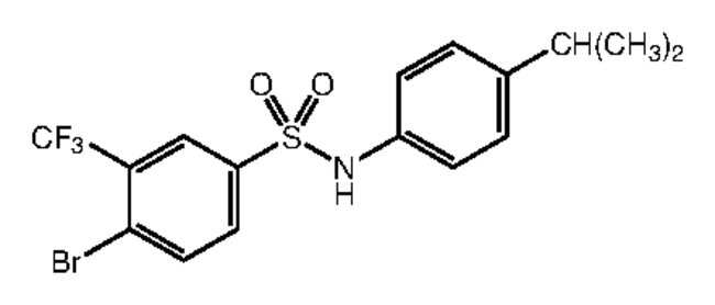Alfa Aesar™4-Bromo-N-(4-Isopropylphenyl)-3-(Trifluoromethyl)benzolsulfonsäureamid, 97% 250mg Produkte