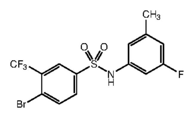 Alfa Aesar™4-Bromo-N-(3-fluoro-5-methylphenyl)-3-(trifluoromethyl)benzenesulfonamide, 97% 250mg Ver productos