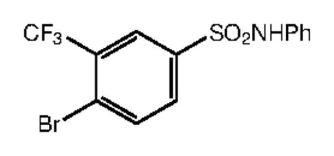 Alfa Aesar™4-Bromo-N-phenyl-3-(trifluoromethyl)benzenesulfonamide, 97% 1g Ver productos