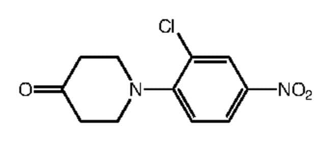 Alfa Aesar™1-(2-Chloro-4-nitrophenyl)-4-piperidone, 97% 250mg Alfa Aesar™1-(2-Chloro-4-nitrophenyl)-4-piperidone, 97%