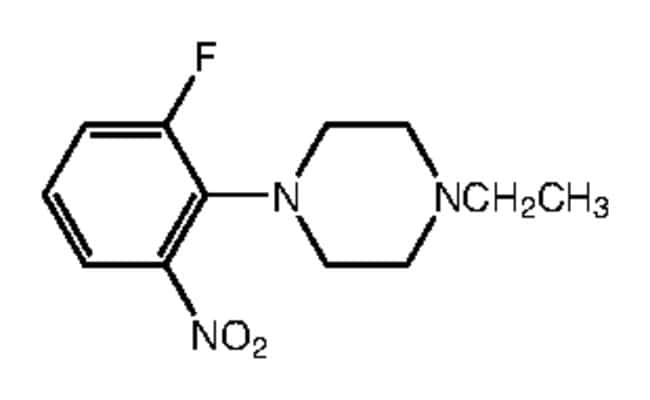 Alfa Aesar™1-Ethyl-4-(2-fluoro-6-nitrophenyl)piperazine, 97% 5g Products