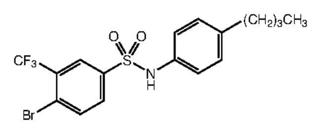 Alfa Aesar™4-Bromo-N-(4-n-butylphenyl)-3-(trifluoromethyl)benzenesulfonamide, 97% 1g Products