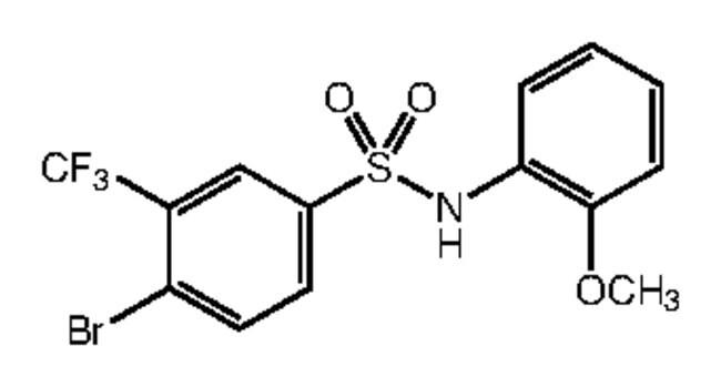 Alfa Aesar™4-Bromo-N-(2-Methoxyphenyl)-3-(Trifluoromethyl)benzolsulfonsäureamid, 97% 250mg Produkte