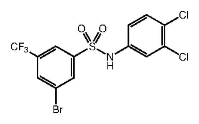 Alfa Aesar™3-Bromo-N-(3,4-dichlorophenyl)-5-(trifluoromethyl)benzenesulfonamide, 97% 1g Ver productos