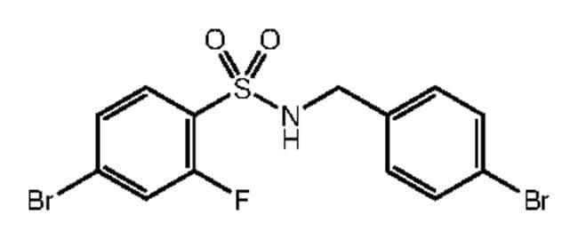 Alfa Aesar™4-Bromo-N-(4-bromobenzyl)-2-fluorobenzenesulfonamide, 97% 1g Ver productos