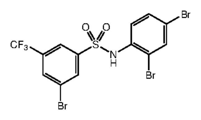 Alfa Aesar™3-Bromo-N-(2,4-dibromophenyl)-5-(trifluoromethyl)benzenesulfonamide, 97% 250mg Ver productos