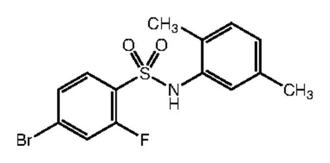 Alfa Aesar™4-Bromo-N-(2,5-dimethylphenyl)-2-fluorobenzenesulfonamide, 97% 1g Ver productos