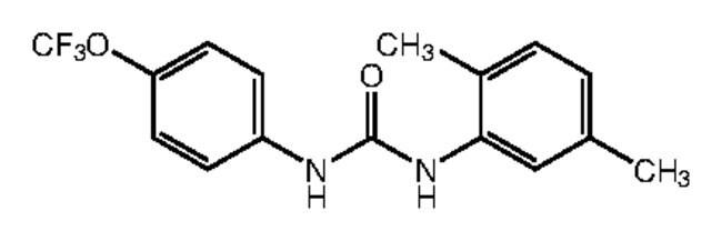 1-(2,5-Dimethylphenyl)-3-[4-(trifluoromethoxy)phenyl]urea, 97%, Alfa Aesar™ 5g products