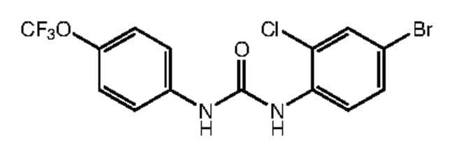 1-(4-Bromo-2-chlorophenyl)-3-[4-(trifluoromethoxy)phenyl]urea, 97%, Alfa Aesar™ 5g Ver productos