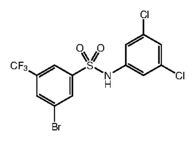 Alfa Aesar™3-Bromo-N-(3,5-dichlorophenyl)-5-(trifluoromethyl)benzenesulfonamide, 97% 250mg Ver productos