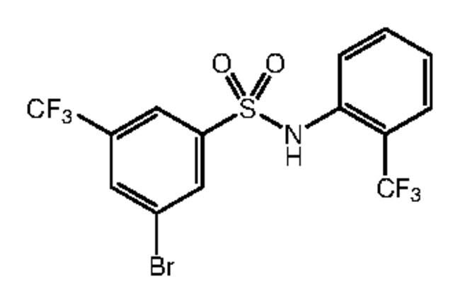 3-Bromo-5-(trifluoromethyl)-N-[2-(trifluoromethyl)phenyl]benzenesulfonamide, 97%, Alfa Aesar™ 1g Ver productos