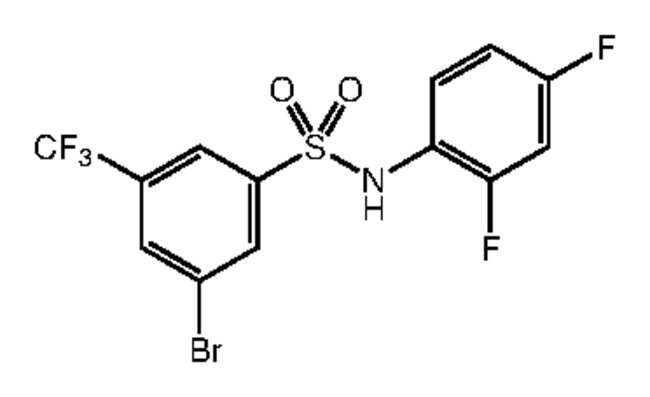 Alfa Aesar™3-Bromo-N-(2,4-difluorophenyl)-5-(trifluoromethyl)benzenesulfonamide, 97%: Inicio