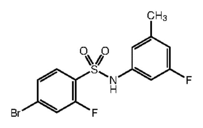 Alfa Aesar™4-Bromo-2-fluoro-N-(3-fluoro-5-methylphenyl)benzenesulfonamide, 97% 250mg Ver productos