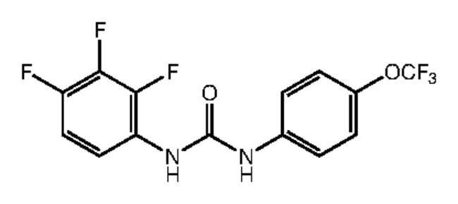 1-[4-(Trifluoromethoxy)phenyl]-3-(2,3,4-trifluorophenyl)urea, 97%, Alfa Aesar™ 250mg products