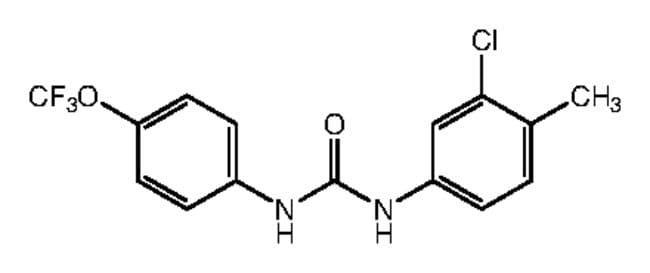 1-(3-Chloro-4-methylphenyl)-3-[4-(trifluoromethoxy)phenyl]urea, 97%, Alfa Aesar™ 1g Ver productos