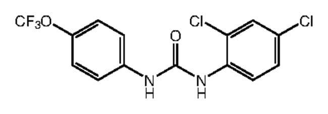1-(2,4-Dichlorophenyl)-3-[4-(trifluoromethoxy)phenyl]urea, 97%, Alfa Aesar™ 5g Ver productos