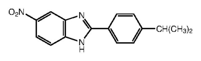 Alfa Aesar™2-(4-Isopropylphenyl)-5-nitrobenzimidazole, 95% 1g Alfa Aesar™2-(4-Isopropylphenyl)-5-nitrobenzimidazole, 95%