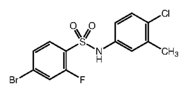 Alfa Aesar™4-Bromo-N-(4-chloro-3-methylphenyl)-2-fluorobenzenesulfonamide, 97% 250mg Ver productos