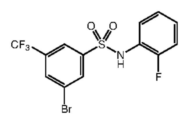 Alfa Aesar™3-Bromo-N-(2-fluorophenyl)-5-(trifluoromethyl)benzenesulfonamide, 97% 250mg Ver productos