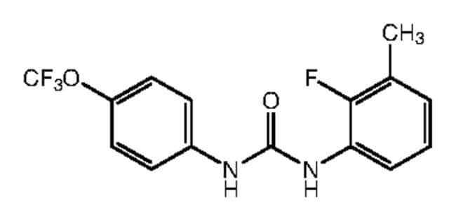 1-(2-Fluoro-3-methylphenyl)-3-[4-(trifluoromethoxy)phenyl]urea, 97%, Alfa Aesar™ 1g Ver productos