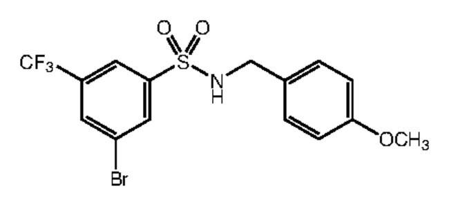 Alfa Aesar™3-Bromo-N-(4-methoxybenzyl)-5-(trifluoromethyl)benzenesulfonamide, 97% 1g products