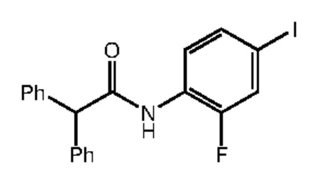 Alfa Aesar™N-(2-Fluoro-4-iodophenyl)-2,2-diphenylacetamide, 95% 1g products