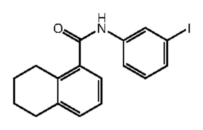 Alfa Aesar™N-(3-Iodophenyl)-5,6,7,8-tetrahydronaphthalene-1-carboxamide, 95% 250mg Ver productos