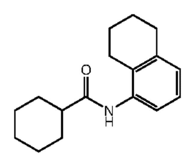 Alfa Aesar™N-(5,6,7,8-Tetrahydro-1-naphthyl)cyclohexanecarboxamide, 95% 250mg Alfa Aesar™N-(5,6,7,8-Tetrahydro-1-naphthyl)cyclohexanecarboxamide, 95%