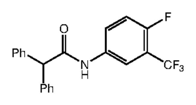 N-[4-Fluoro-3-(trifluoromethyl)phenyl]-2,2-diphenylacetamide, 95%, Alfa Aesar™ 1g Ver productos