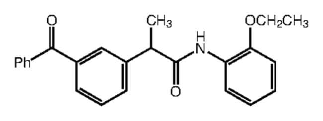 Alfa Aesar™2-(3-Benzoylphenyl)-N-(2-ethoxyphenyl)propionamide, 95% 250mg Ver productos