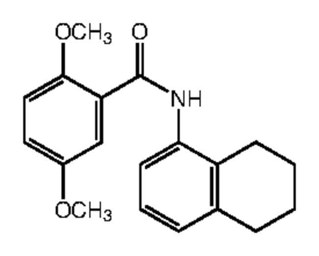 Alfa Aesar™2,5-Dimethoxy-N-(5,6,7,8-tetrahydro-1-naphthyl)benzamide, 95% 250mg Ver productos