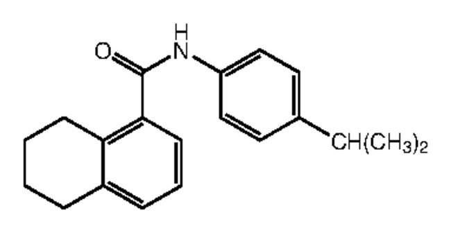 Alfa Aesar™N-(4-Isopropylphenyl)-5,6,7,8-tetrahydronaphthalene-1-carboxamide, 95% 250mg Products