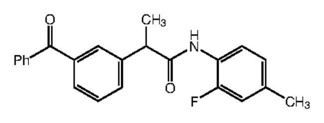Alfa Aesar™2-(3-Benzoylphenyl)-N-(2-fluoro-4-methylphenyl)propionamide, 95% 1g products