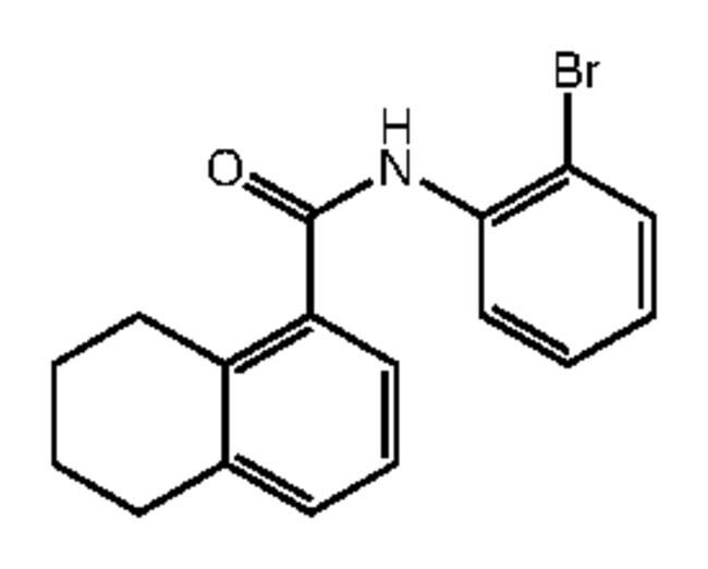 Alfa Aesar™N-(2-Bromophenyl)-5,6,7,8-tetrahydronaphthalene-1-carboxamide, 95% 250mg products