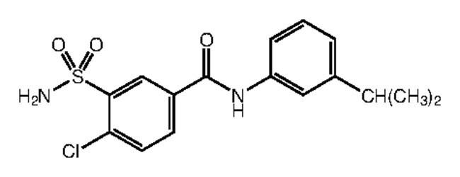 Alfa Aesar™4-Chloro-N-(3-isopropylphenyl)-3-sulfamoylbenzamide, 95% 250mg Ver productos