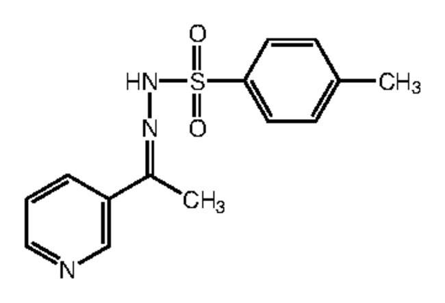 Alfa Aesar™3-Acetylpyridine p-toluenesulfonylhydrazone, 97% 1g Alfa Aesar™3-Acetylpyridine p-toluenesulfonylhydrazone, 97%