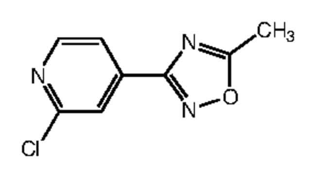 Alfa Aesar™2-Chloro-4-(5-methyl-1,2,4-oxadiazol-3-yl)pyridine, 97% 250mg Products
