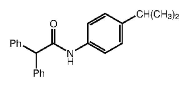 Alfa Aesar™N-(4-Isopropylphenyl)-2,2-diphenylacetamide, 95% 250mg Ver productos