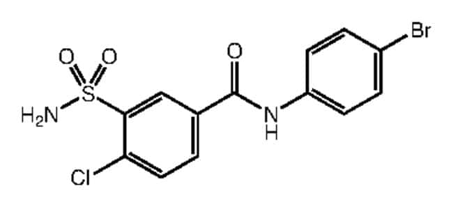 Alfa Aesar™N-(4-Bromophenyl)-4-chloro-3-sulfamoylbenzamide, 95% 250mg Products